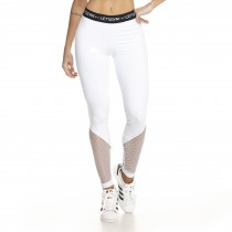 Legging Fuseau Athletic Branca